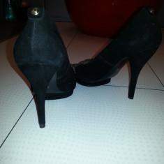 Vand pantofi Guess noi-nouti - Pantof dama Guess, Marime: 41, Culoare: Negru, Negru