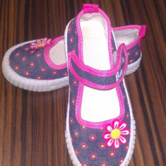 Tenisi copii - Tenisi fata masura 27 28 29 - sandale pantofi sandalute fetita blugi denim
