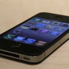 Vand iPhone 4 Apple liber in orice retea inpecabil, Negru, 32GB, Neblocat