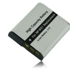 Baterie Aparat foto - Acumulator premium tip NP-BG1 cu InfoChip 100% compatibil Sony CyberShot DSC-H3 H7 H9 H10 H20 H50 H55 H70 H90 N1 N2 T20 T25 T100 W30 W35
