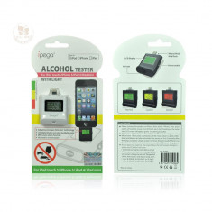 IPega AlcoolTest Alcool Tester digital Etilotest Alcooltester Fiola Apple iPod Touch 5 iPad 4 iPad Mini Air iPhone 5 5S 5C - AlcoolTest auto