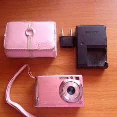 Aparat Foto Cyber Shot DSC W80 ROZ - Cablu foto Sony