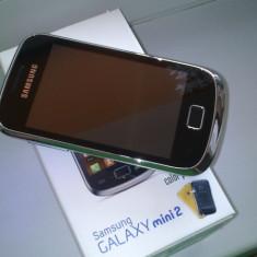 Samsung galaxy mini 2 cutie/garantie - Telefon mobil Samsung Galaxy Mini 2, Negru, Orange