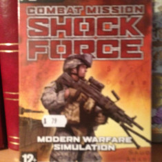 COMBAT MISSION SHOCK FORCE -JOC PC/DVD (2007) - NOU/SIGILAT - Jocuri PC Altele, Strategie, 12+