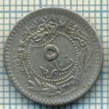 3806 MONEDA - TURCIA, PERIOADA OTOMANA - 5 PARA - anul 1327 anul 5 de domnie (1913) ? -starea care se vede