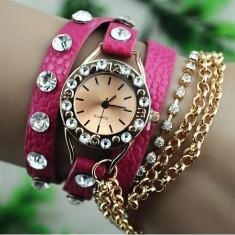 Ceas vintage pentru fete dragute lichidare stoc model 2013 cumpara acum doar 99 ron - Ceas dama, Piele