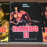 Carte de aventura - DAVID MORRELL - RAMBO - VOL 1, 2, 3
