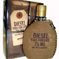 Parfum Original Men Diesel Fuel For Life 75 ml EDT 240 Ron TESTER - Parfum barbati Diesel, Apa de toaleta