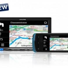 DVD Player 2 DIN display 7 cu Touchscreen WVGA, - Alpine ICS-X8