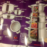 Set pentru gatit 16 vase - Impulser Cookware