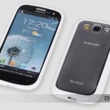 Husa Samsung Galaxy S3 i9300 TPU + Folie by Yoobao Originala White - Husa Telefon Yoobao, Alb, Gel TPU, Fara snur, Carcasa