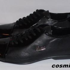 Pantofi GUCCI 100% Piele Naturala cu Piele Lacuita - Model NOU de Sezon !!! - Pantofi barbati