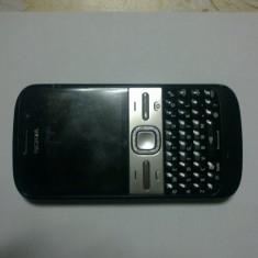 Vand telefon Nokia E5 +incarcator, cablu de date stare buna - Telefon mobil Nokia E5, Negru, Orange