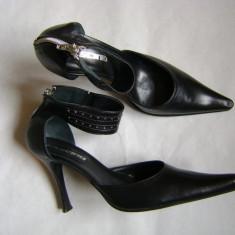 Pantofi dama - PANTOFI FEMEI/DAMA DIN PIELE Fascino, IMP ITALIA nr 40, cititi descrierea
