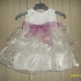Haine Copii 6 - 12 luni, Rochii - Rochie/rochita fetita/fetite botez 6-12 luni