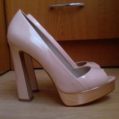 Pantofi Zara - Pantof dama Zara, Marime: 36, Culoare: Nude, Nude