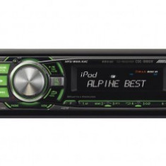 CD Player MP3 auto - Radio CD Mp3, USB, RDS, control Ipod, Alpine CDE-9880R