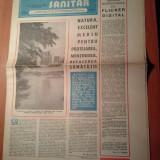 Ziarul muncitorul sanitar 14 iunie 1980