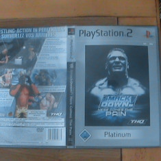 Smackdown Here Comes The Pain joc PS2 - Jocuri PS2 Sony, Sporturi, 16+, Multiplayer