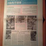 Ziarul muncitorul sanitar 6 martie 1982