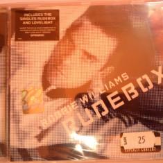 ROBBIE WILLIAMS - RUDE BOX (2006/EMI MUSIC) -gen :POP - CD NOU/SIGILAT - Muzica Pop emi records