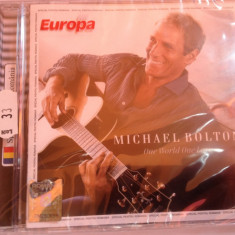 MICHAEL BOLTON - ONE WORLD ONE LOVE(2009/UNIVERSAL REC) -gen:POP- CD NOU/SIGILAT - Muzica Pop universal records