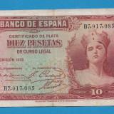 2. Spania 10 pesetas 1935