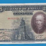 2. Spania 25 pesetas 1928
