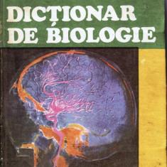 DICTIONAR DE BIOLOGIE de TEOFIL CRACIUN si LUANA-LEONORA CRACIUN