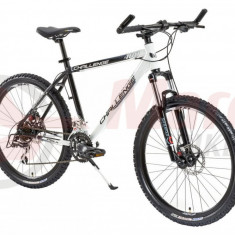 Bicicleta MTB DHS 2687 21V - Model 2012 - Mountain Bike DHS, Aluminiu, Alb