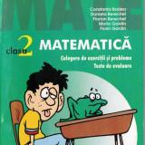 Culegere Matematica - 2000 + 3 MATEMATICA - CULEGERE DE EXERCITII SI PROBLEME. TESTE DE EVALUARE PT CLS A II A de CONSTANTIN BADEA ED. PARALELA 45