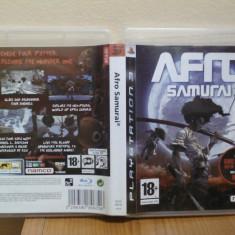 Afro Samurai (PS3) (ALVio) + sute de alte jocuri ps3 ( VAND / SCHIMB ), Actiune, 18+