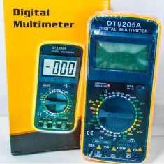 Multimetre - Multimetru digital profesional aparat de masura prevazut cu carcasa antisoc