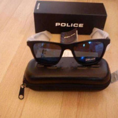 OCHELARI POLICE S1800 100% ORIGINALI - Ochelari de soare Police, Unisex, Albastru, Protectie UV 100%