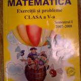 Manual Clasa a V-a, Matematica - Matematica exercitii si probleme clasa a V a - Ion Ghica, Ghe. Drugan