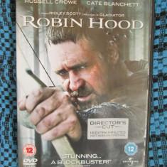 ROBIN HOOD (cu RUSSELL CROWE si CATE BLANCHETT) - film DVD (original din ANGLIA, in stare impecabila!!!) - Film actiune, Engleza