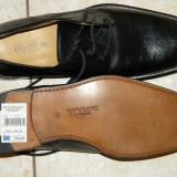 Pantofi barbati, Piele naturala - Pantofi barbatesti nr 42 Cortefiel Italtia piele noi 180 lei