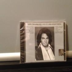 NEIL DIAMOND - HIS 12 GREATEST HITS (MCA REC /1985) CD NOU/SIGILAT-made in USA - Muzica Rock arista
