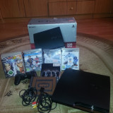 PlayStation 3 Sony SLIM 5JOCURI