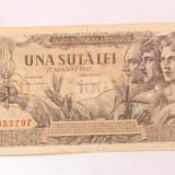 100 lei 1947 august 1947 piesa - 1 - PRET REDUS