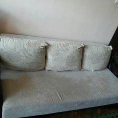 Canapea si fotoliu in set, Canapea in stil contemporan, Canapele extensibile, Din stofa