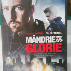MANDRIE SI GLORIE-Edward Norton Colin Farrell DVD - Film thriller Altele, Romana