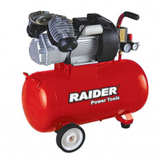 Compresor electric, Compresoare cu piston - 120107-Compresor aer 100L Raider 2200W NOU
