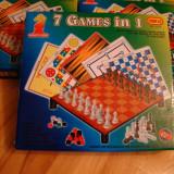 Jocuri Board games - Joc magnetic 7 in 1, NOU, sah magnetic, talble magnetice, tintar, serpi si scari, nu te supara frate, (ludo), x si 0, checkers.