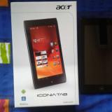 Tableta Acer a100 Impecabila! Toate accesorile originale in cutie!, 7 inch, 8 Gb, Wi-Fi, Android