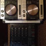 Vand cdj 200 + mixer behringer djx 750 (pret negociabil*)