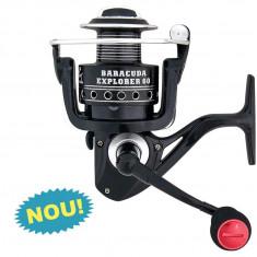 Mulineta Baracuda Explorer 60 model nou 2014 pentru pescuit la crap si somn