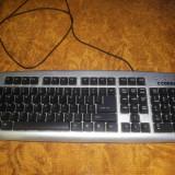 Tastatura, Standard, Cu fir, PS 2