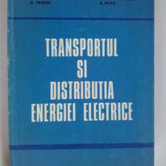 Carti Electrotehnica - Transportul si distributia energiei electrice - A. Poeata A. Arie O. Crisan M. Eremia V. Alexandrescu A. Buta - Ed. Didactica si pedagogica Bucuresti