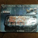 Gratar electric, 2000 W - Gril marca FERRARI (electronic galactic grilia)